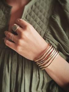Bilde av Klassisk Gull Cuff-Armbånd