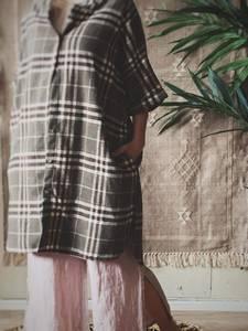 Bilde av Brun - Isadora Skjorte Kjole