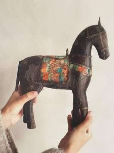 Bilde av Vintage Hest XL No.5